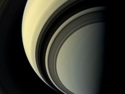 Winter is approaching in the southern hemisphere of Saturn and with this cold season has come the familiar blue hue that was present in the northern winter hemisphere at the start of NASA's Cassini mission